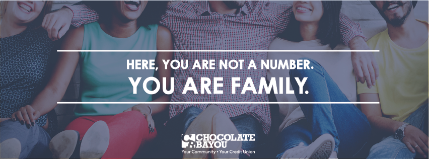Share Your Chocolate Bayou Credit Union Story